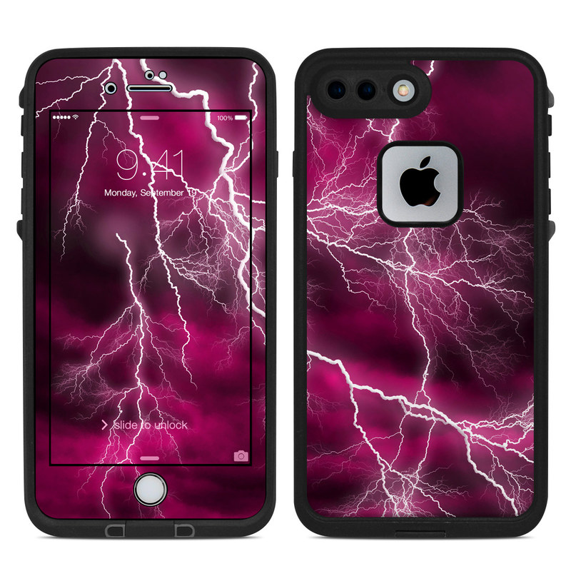 promo code d5da9 d13f1 Lifeproof iPhone 7 Plus Fre Case Skin - Apocalypse Pink