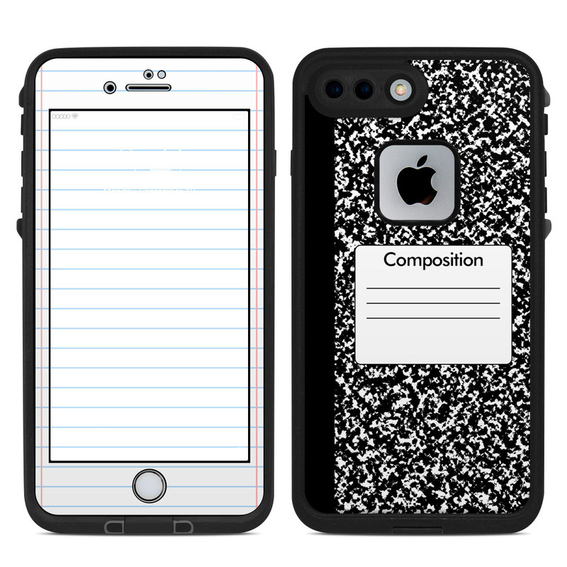 Lifeproof iPhone 7 Plus Fre Case Skin - Composition Notebook by ... f491a29c43ee