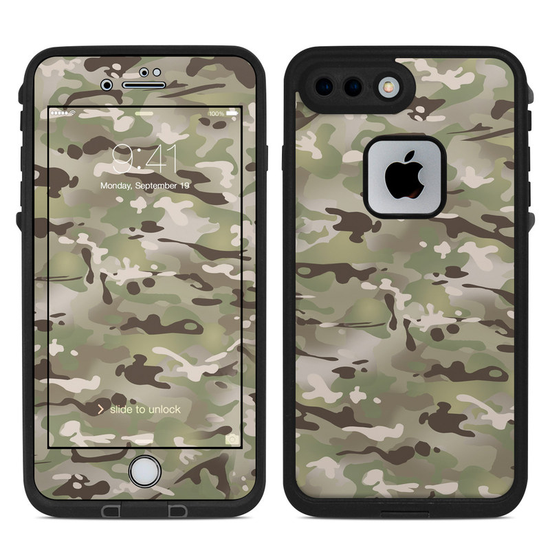 new concept 943d4 aec3d Lifeproof iPhone 7 Plus Fre Case Skin - FC Camo