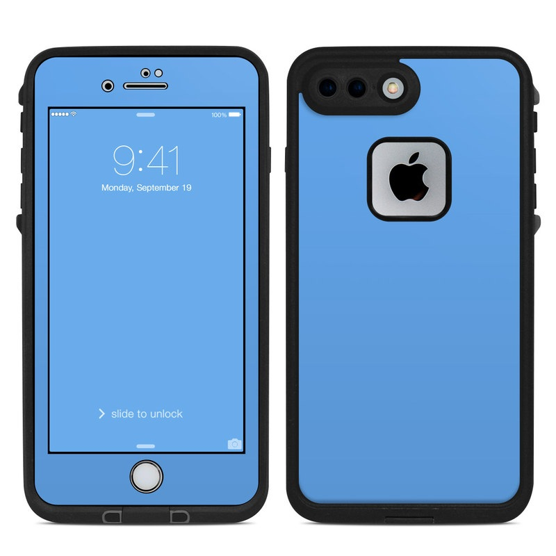 quality design 2d2c7 3b7f3 Lifeproof iPhone 7 Plus Fre Case Skin - Solid State Blue