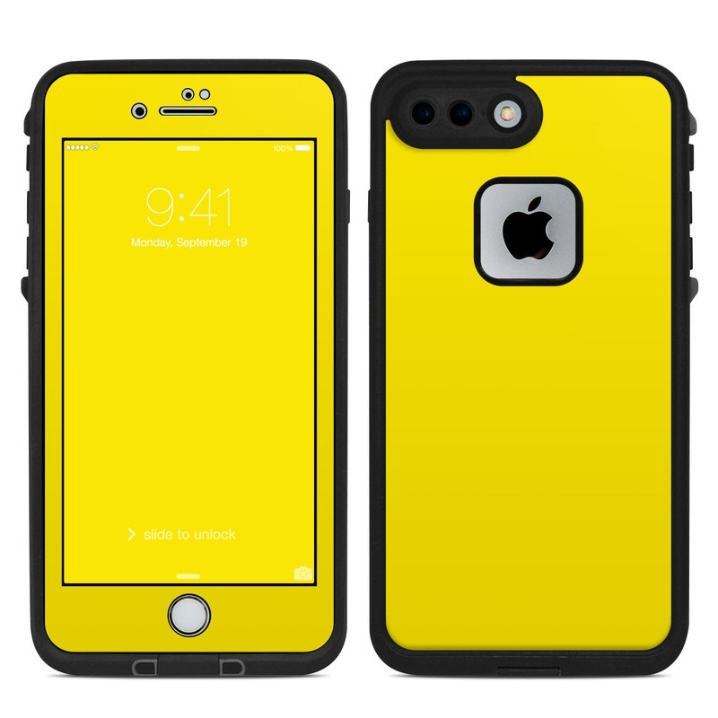 low priced 09a17 6212b Lifeproof iPhone 7 Plus Fre Case Skin - Solid State Yellow