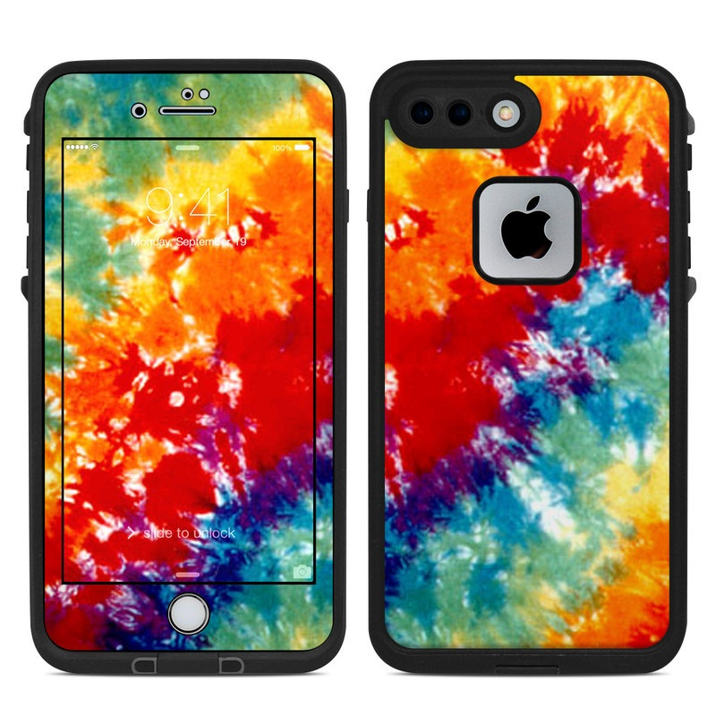 buy online 7e801 1e1bb Lifeproof iPhone 7 Plus Fre Case Skin - Tie Dyed