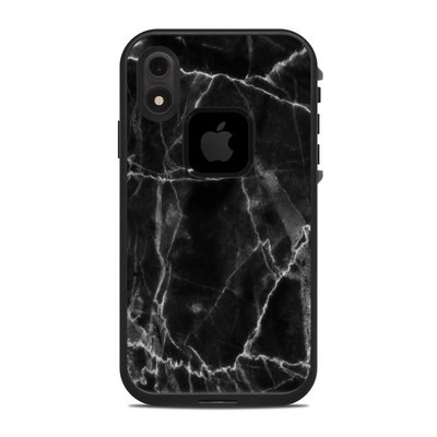Lifeproof iPhone XR Fre Case Skin - Black Marble