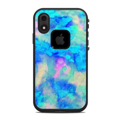 Lifeproof iPhone XR Fre Case Skin - Electrify Ice Blue