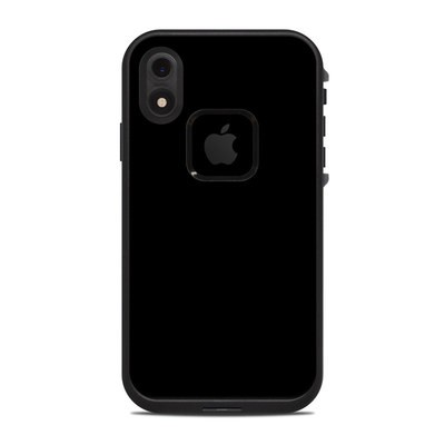 Lifeproof iPhone XR Fre Case Skin - Solid State Black