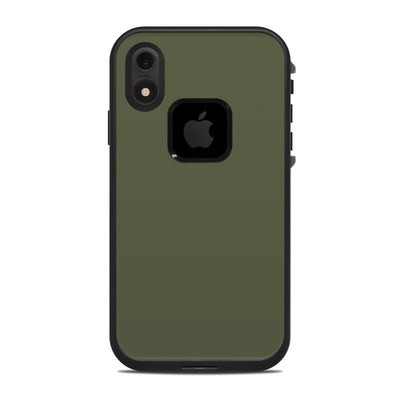 Lifeproof iPhone XR Fre Case Skin - Solid State Olive Drab