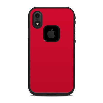 Lifeproof iPhone XR Fre Case Skin - Solid State Red