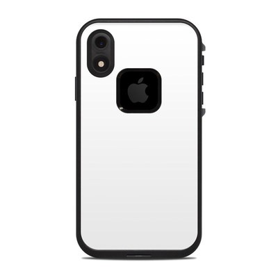 Lifeproof iPhone XR Fre Case Skin - Solid State White