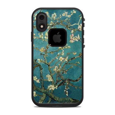 Lifeproof iPhone XR Fre Case Skin - Blossoming Almond Tree
