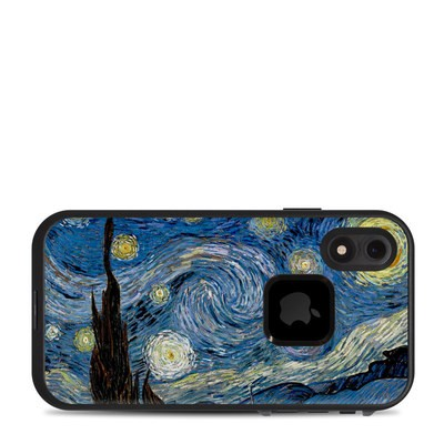 Lifeproof iPhone XR Fre Case Skin - Starry Night
