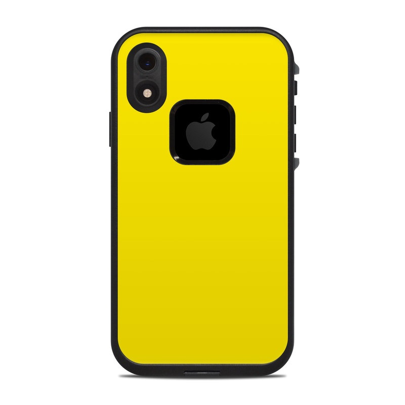 newest 612a9 8697d Lifeproof iPhone XR Fre Case Skin - Solid State Yellow