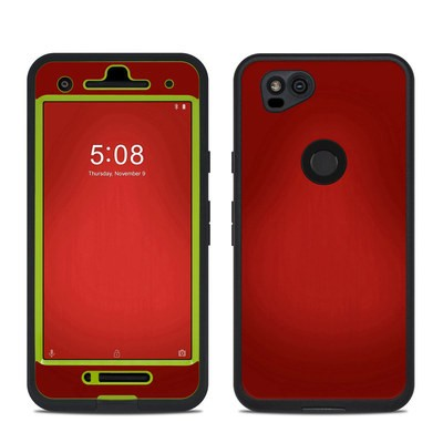 Lifeproof Google Pixel 2 Fre Case Skin - Red Burst