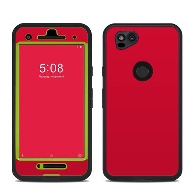 Lifeproof Google Pixel 2 Fre Case Skin - Solid State Red