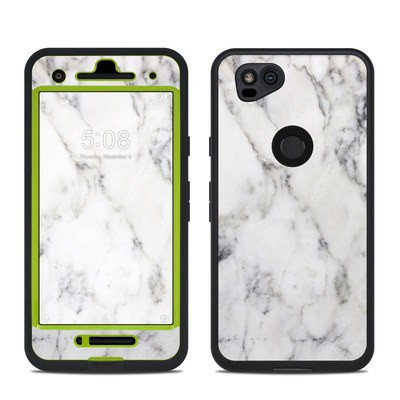 Lifeproof Google Pixel 2 Fre Case Skin - White Marble