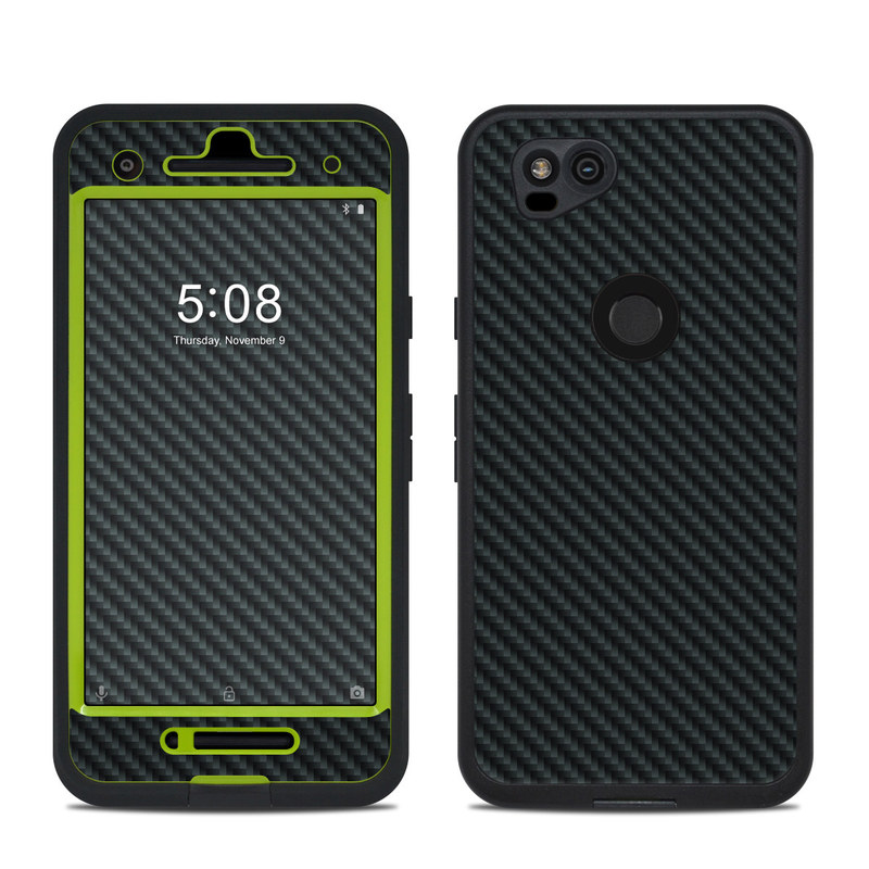 new arrival c69b0 f71e2 Lifeproof Google Pixel 2 Fre Case Skin - Carbon by DecalGirl Collective
