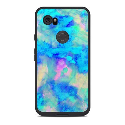 Lifeproof Google Pixel 2 XL Fre Case Skin - Electrify Ice Blue