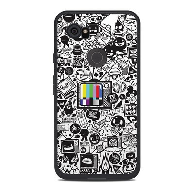 Lifeproof Google Pixel 2 XL Fre Case Skin - TV Kills Everything