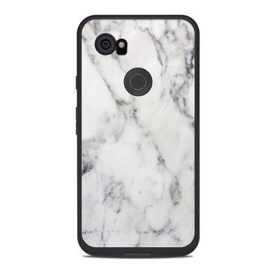 Lifeproof Google Pixel 2 XL Fre Case Skin - White Marble
