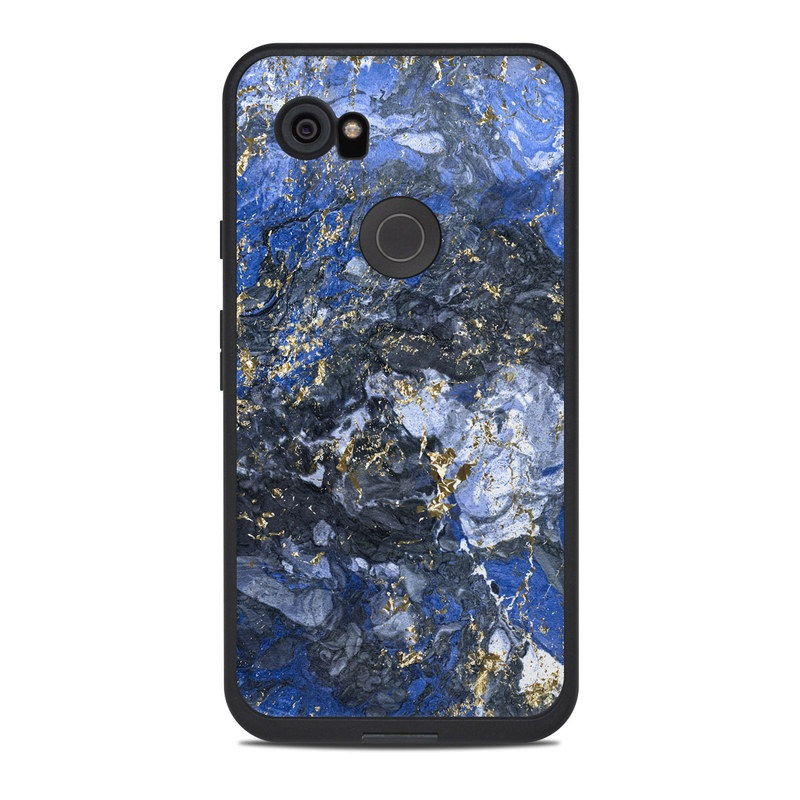 the latest 6543a d6285 Lifeproof Google Pixel 2 XL Fre Case Skin - Gilded Ocean Marble