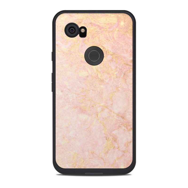 the best attitude 3d0a0 dd9b6 Lifeproof Google Pixel 2 XL Fre Case Skin - Rose Gold Marble