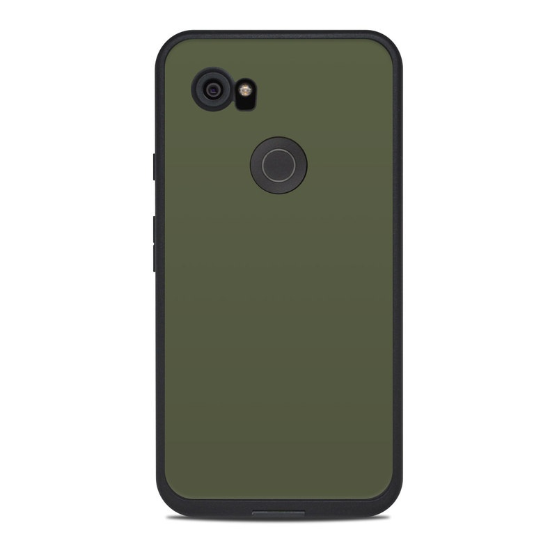 reputable site 94492 3fcdb Lifeproof Google Pixel 2 XL Fre Case Skin - Solid State Olive Drab