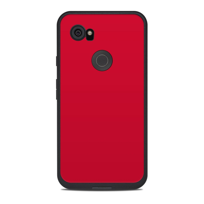 sneakers for cheap 26048 27d7f Lifeproof Google Pixel 2 XL Fre Case Skin - Solid State Red