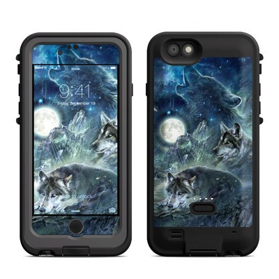Lifeproof iPhone 6 Fre Power Case Skin - Bark At The Moon