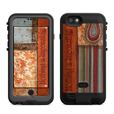 Lifeproof iPhone 6 Fre Power Case Skin - Be Inspired