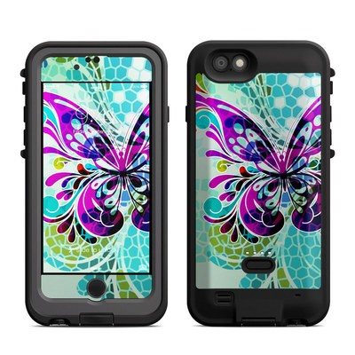 Lifeproof iPhone 6 Fre Power Case Skin - Butterfly Glass