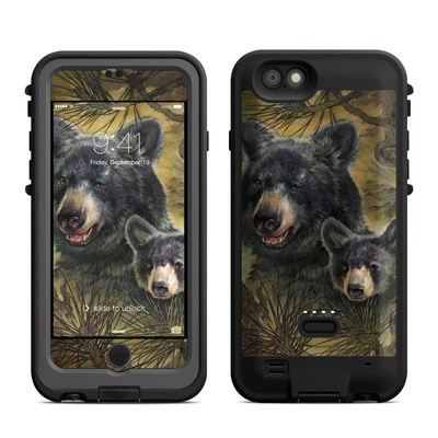 Lifeproof iPhone 6 Fre Power Case Skin - Black Bears