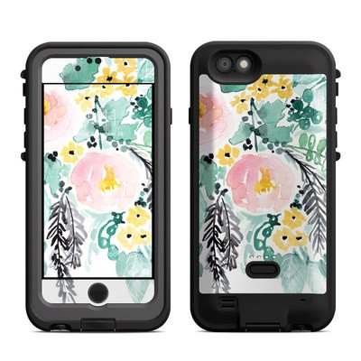 Lifeproof iPhone 6 Fre Power Case Skin - Blushed Flowers