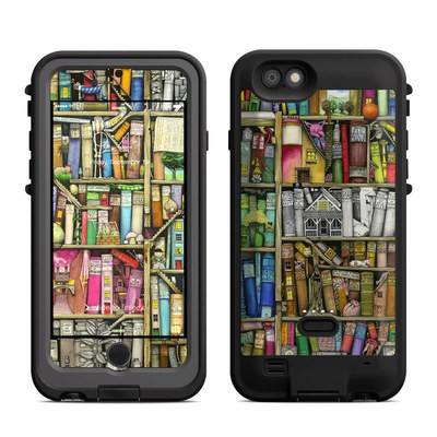 Lifeproof iPhone 6 Fre Power Case Skin - Bookshelf
