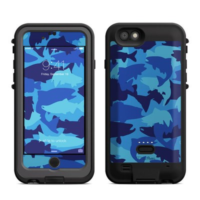 Lifeproof iPhone 6 Fre Power Case Skin - Camo Fish