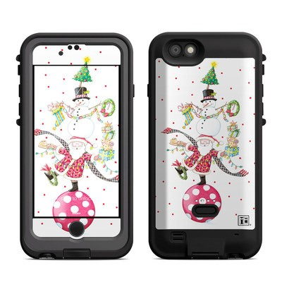 Lifeproof iPhone 6 Fre Power Case Skin - Christmas Circus