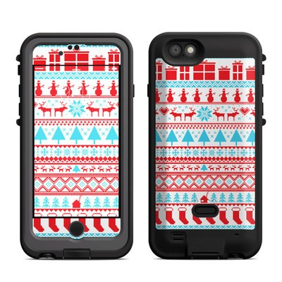 Lifeproof iPhone 6 Fre Power Case Skin - Comfy Christmas