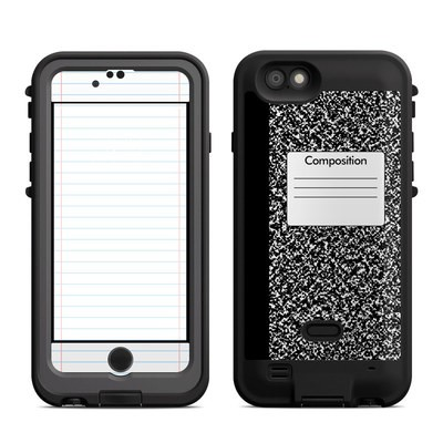 Lifeproof iPhone 6 Fre Power Case Skin - Composition Notebook
