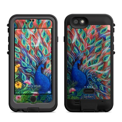 Lifeproof iPhone 6 Fre Power Case Skin - Coral Peacock