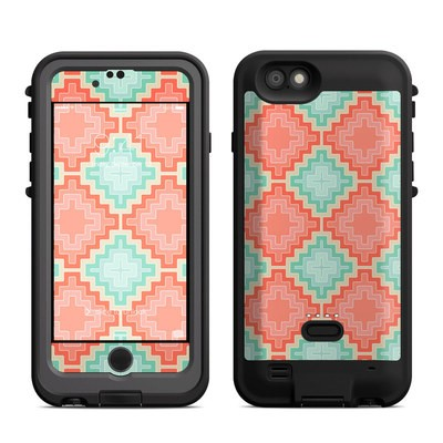 Lifeproof iPhone 6 Fre Power Case Skin - Coral Diamond