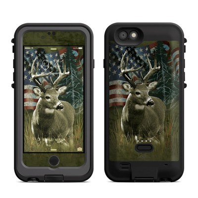 Lifeproof iPhone 6 Fre Power Case Skin - Deer Flag