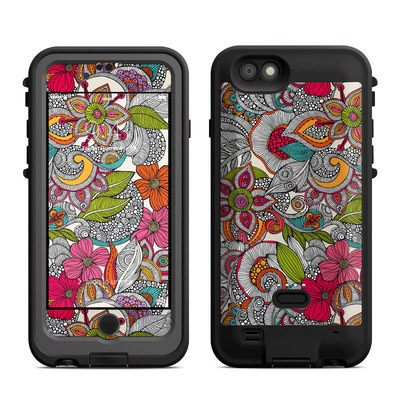 Lifeproof iPhone 6 Fre Power Case Skin - Doodles Color