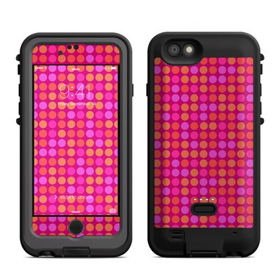 Lifeproof iPhone 6 Fre Power Case Skin - Dots Pink