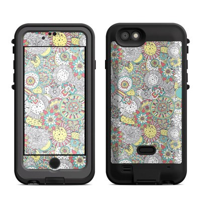 Lifeproof iPhone 6 Fre Power Case Skin - Faded Floral