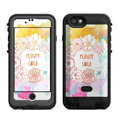 Lifeproof iPhone 6 Fre Power Case Skin - Flower Child