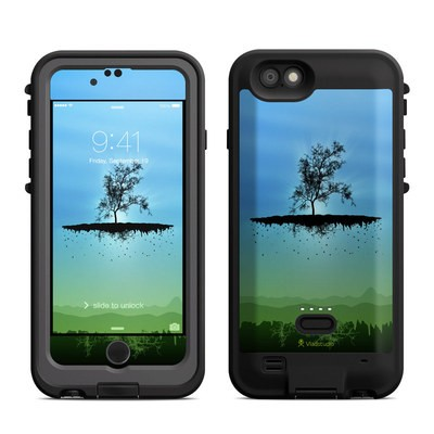Lifeproof iPhone 6 Fre Power Case Skin - Flying Tree Blue