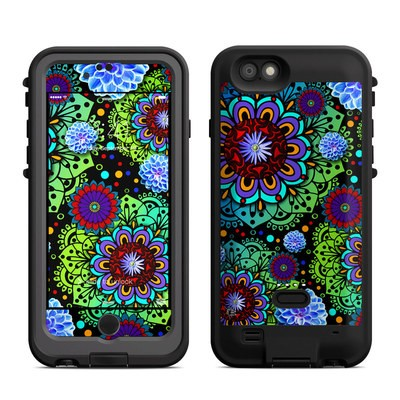 Lifeproof iPhone 6 Fre Power Case Skin - Funky Floratopia