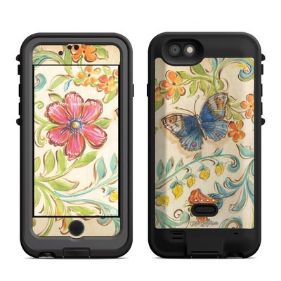 Lifeproof iPhone 6 Fre Power Case Skin - Garden Scroll
