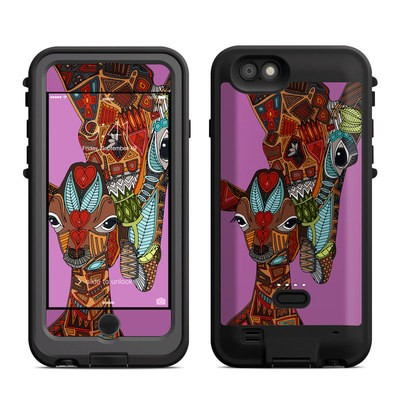 Lifeproof iPhone 6 Fre Power Case Skin - Giraffe Love