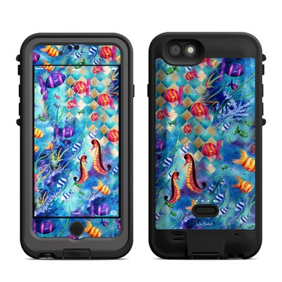 Lifeproof iPhone 6 Fre Power Case Skin - Harlequin Seascape