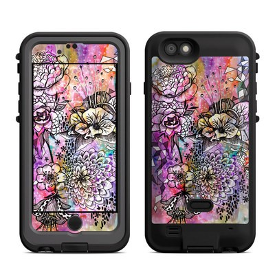 Lifeproof iPhone 6 Fre Power Case Skin - Hot House Flowers