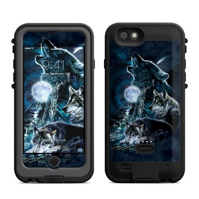 Lifeproof iPhone 6 Fre Power Case Skin - Howling